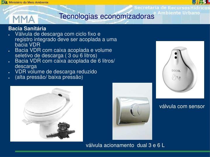 Tecnologias economizadoras