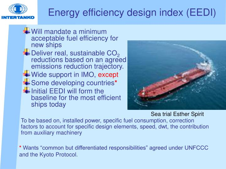Energy efficiency design index (EEDI)