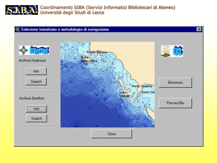 Coordinamento SIBA (Servizi Informatici Bibliotecari di Ateneo)