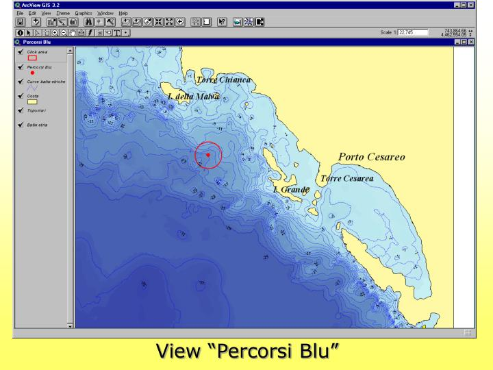 "View ""Percorsi Blu"""