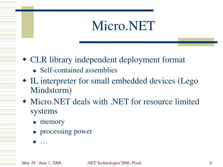 Micro.NET