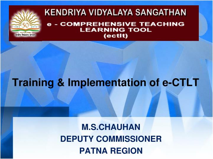training implementation of e ctlt