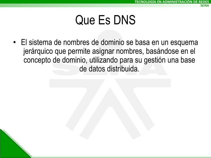 Que Es DNS