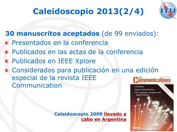 Caleidoscopio 2013(2/4)
