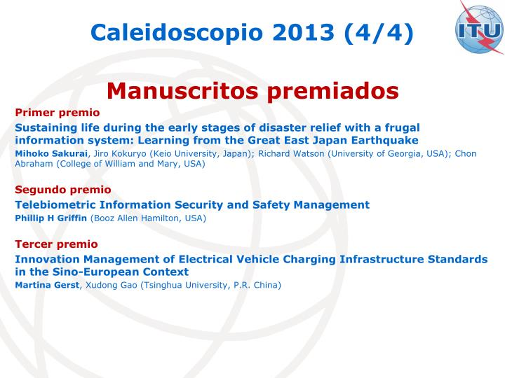 Caleidoscopio 2013 (4/4)