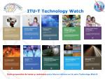 itu t technology watch