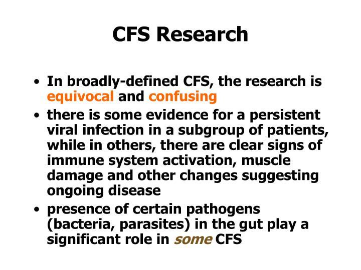 CFS Research