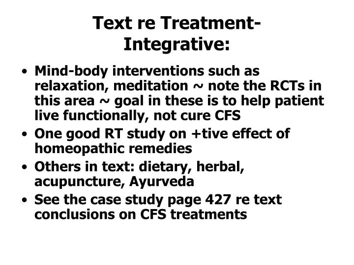 Text re Treatment-