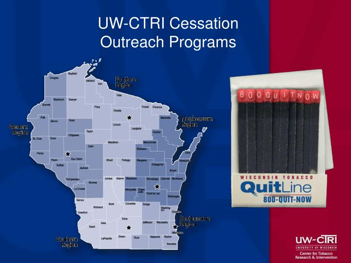 UW-CTRI Cessation Outreach Programs