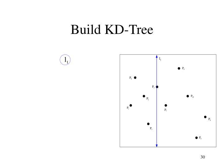 Build KD-Tree