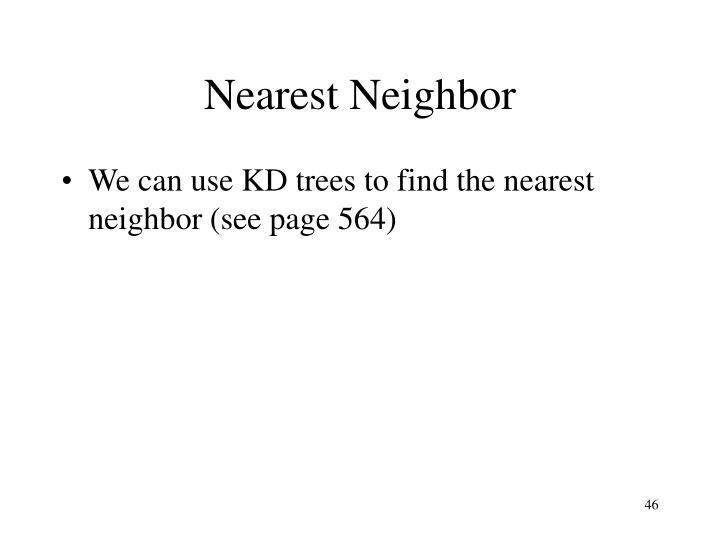 Nearest Neighbor