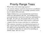 priority range trees