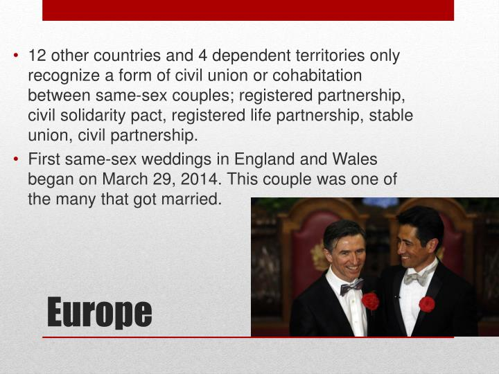 from Ronnie gay marriages and civil unions