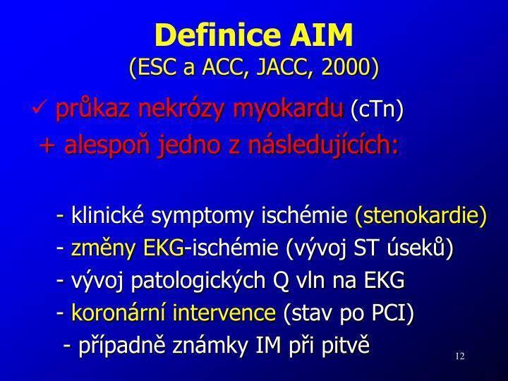 Definice AIM