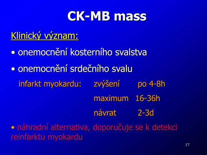 CK-MB mass