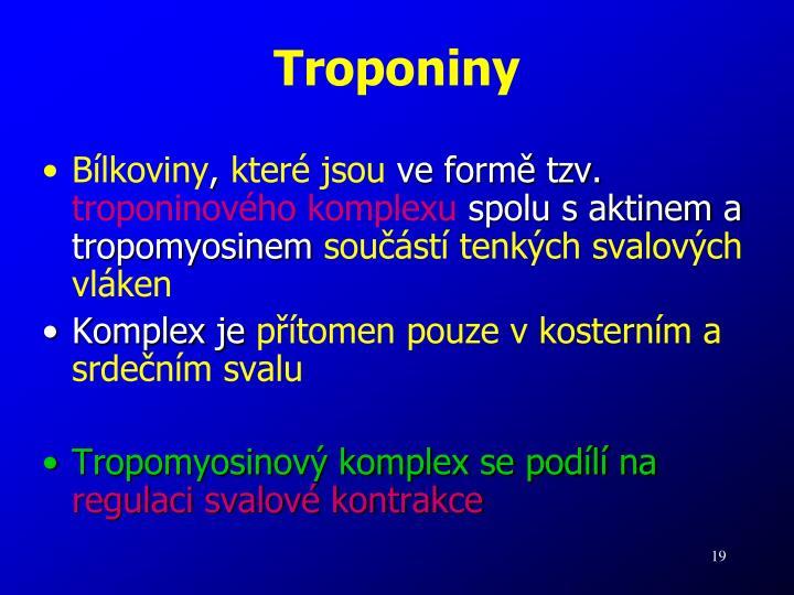 Troponiny