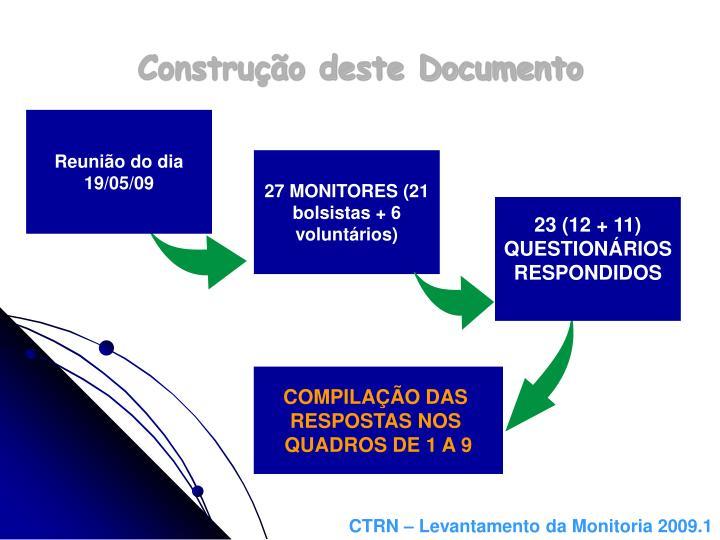 Construção deste Documento