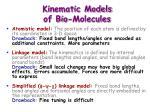 kinematic models of bio molecules2