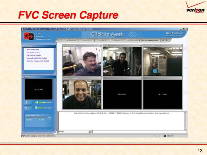 FVC Screen Capture