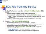 eca rule matching service