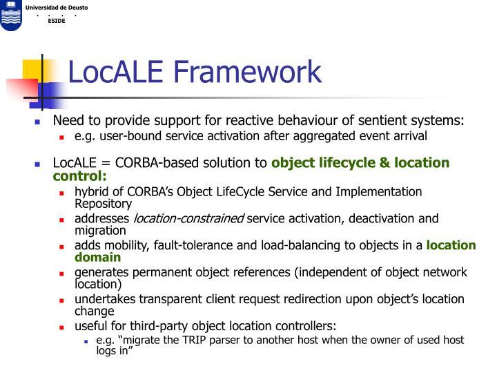LocALE Framework