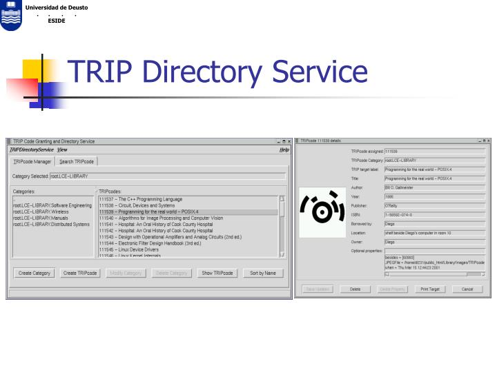 TRIP Directory Service