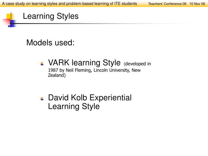 VARK learning Style