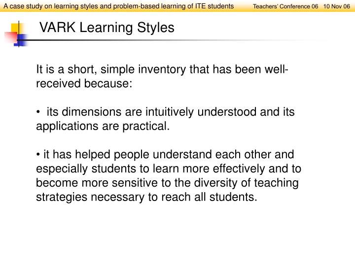 VARK Learning Styles