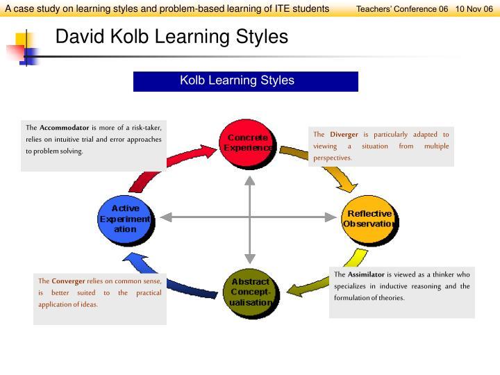 David Kolb Learning Styles