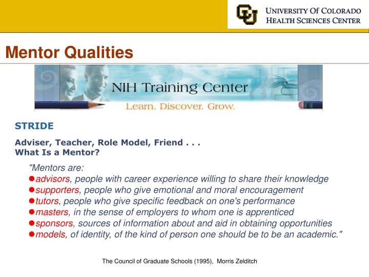 Mentor Qualities