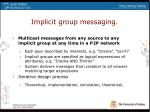 implicit group messaging