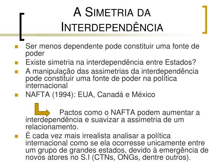 A Simetria da Interdependência