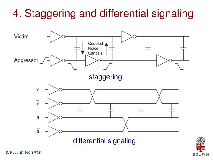 4. Staggering and differential signaling
