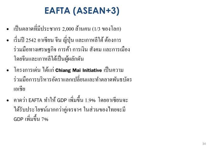 EAFTA (ASEAN+3)