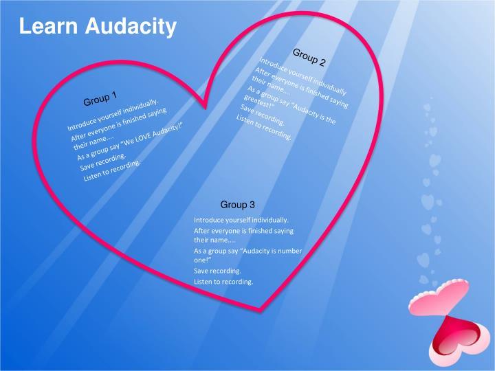 Learn Audacity