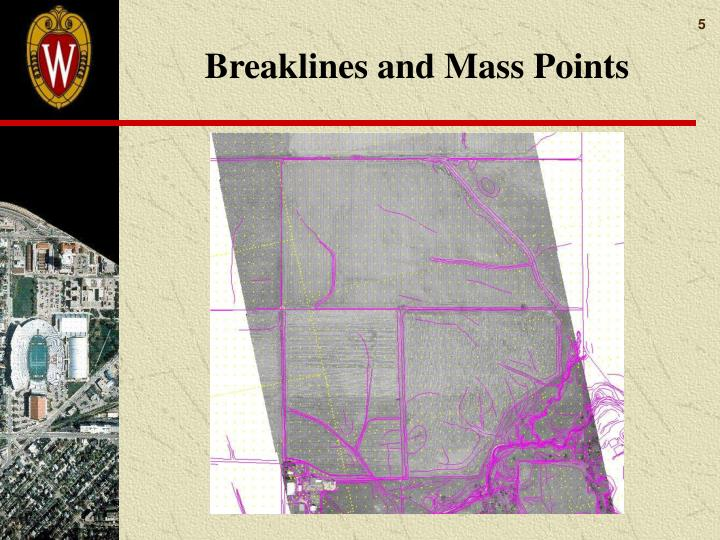Breaklines and Mass Points