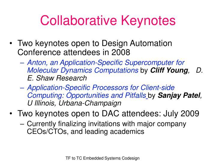Collaborative Keynotes