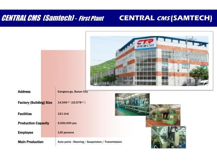 CENTRAL CMS  (Samtech)