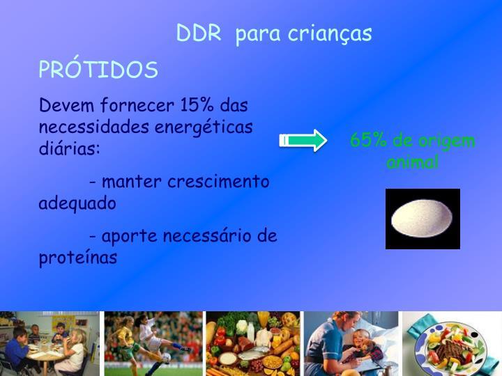 DDR  para crianças