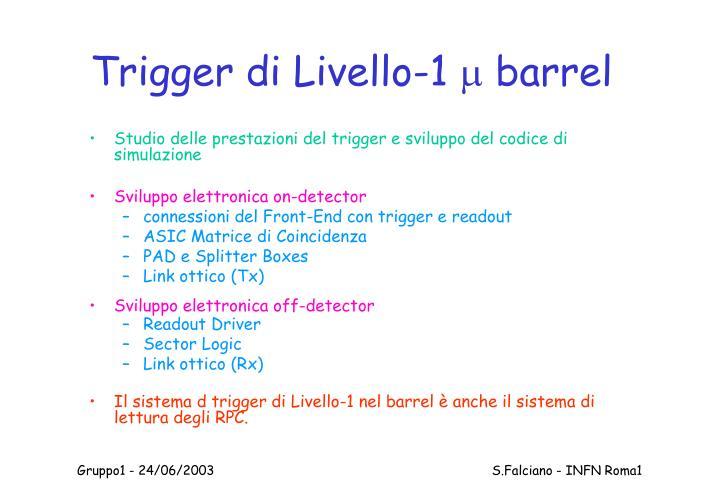 Trigger di Livello-1