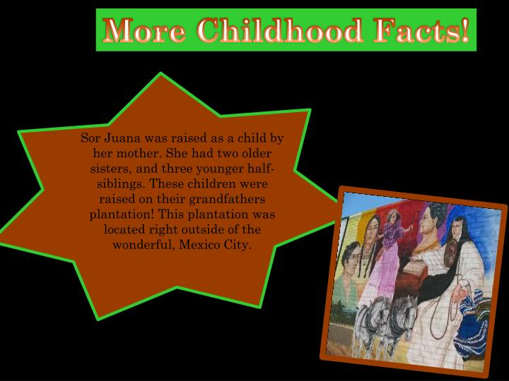 More Childhood Facts!