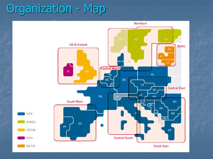 Organization - Map