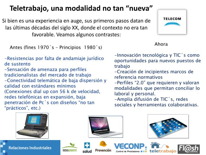 """Teletrabajo, una modalidad no tan """"nueva"""""""