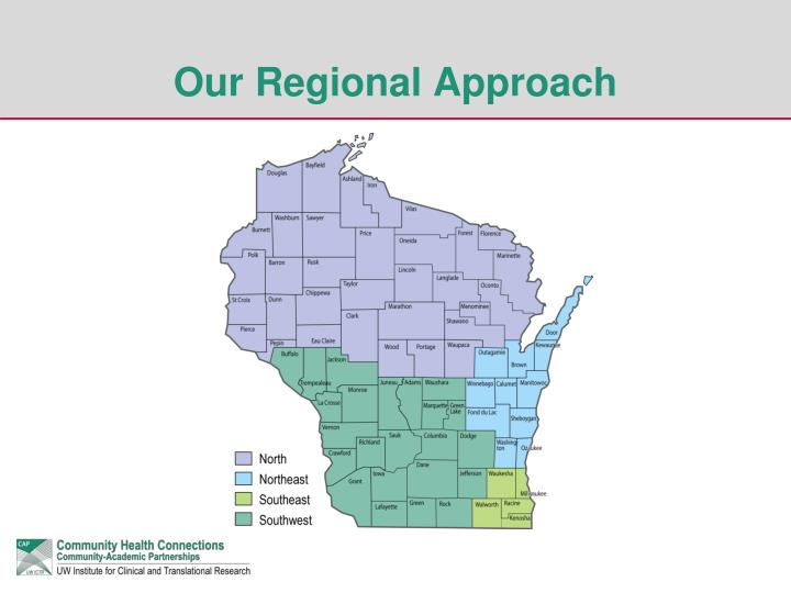 Our Regional Approach