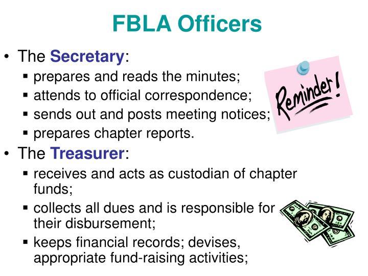 FBLA Officers