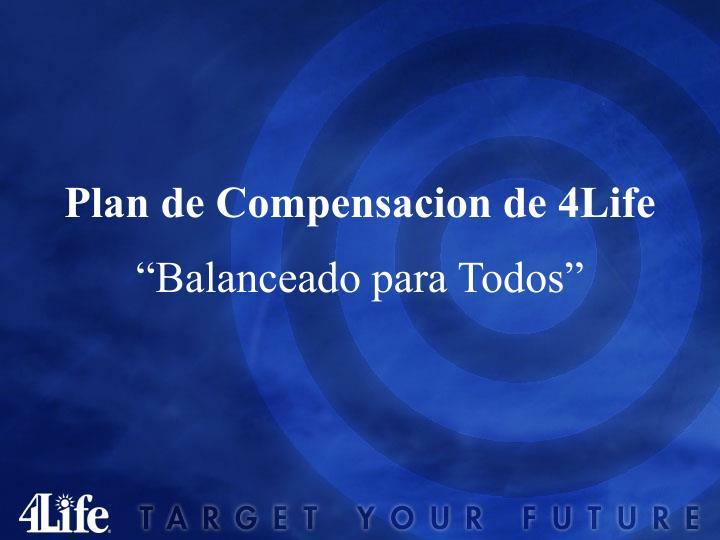 Plan de Compensacion de 4Life
