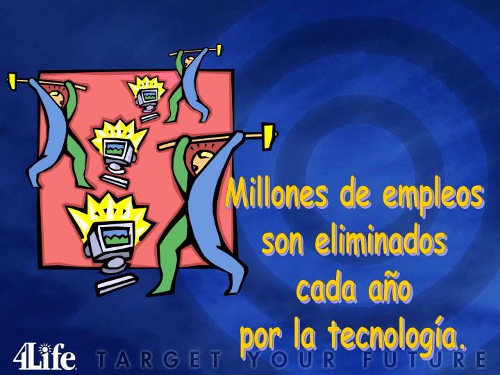 Millones de empleos