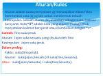 aturan rules