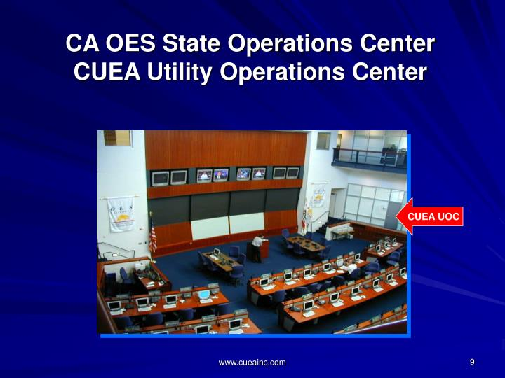 CA OES State Operations Center