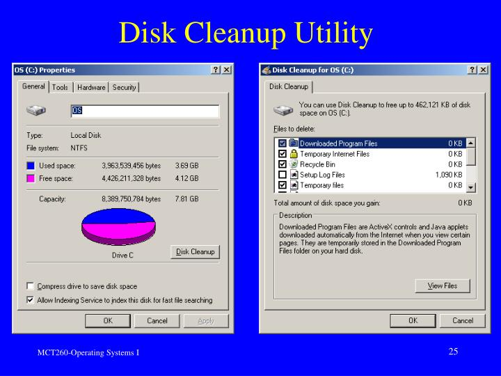 Disk Cleanup Utility